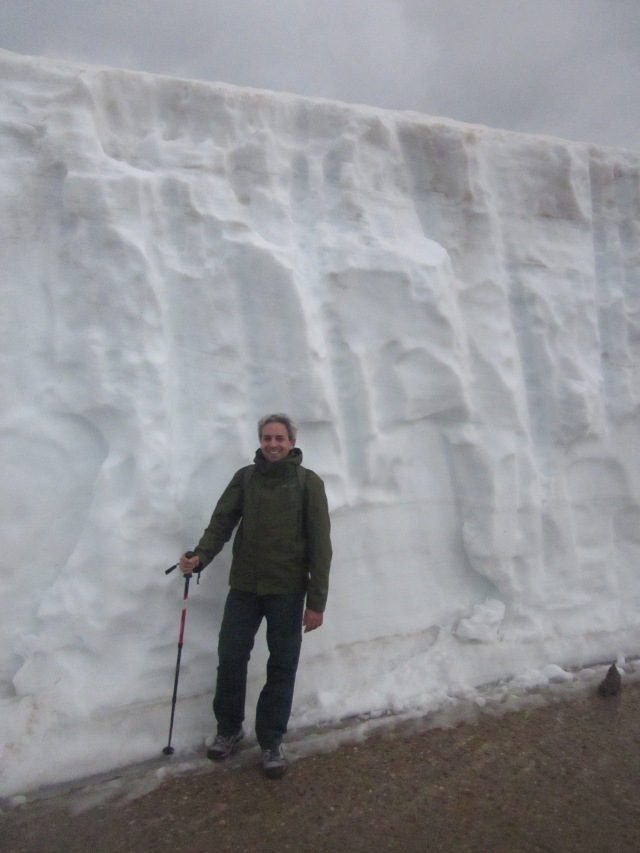 Muro de nieve