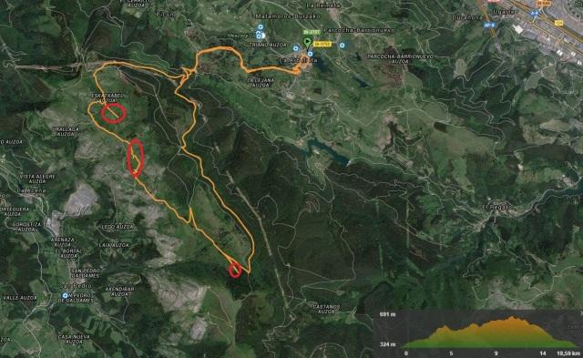 Track ruta minera en BTT
